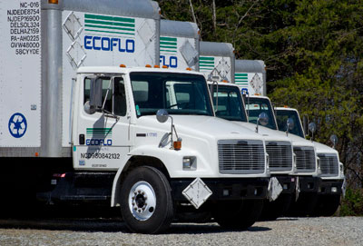 Atlanta hazardous waste management transport truck