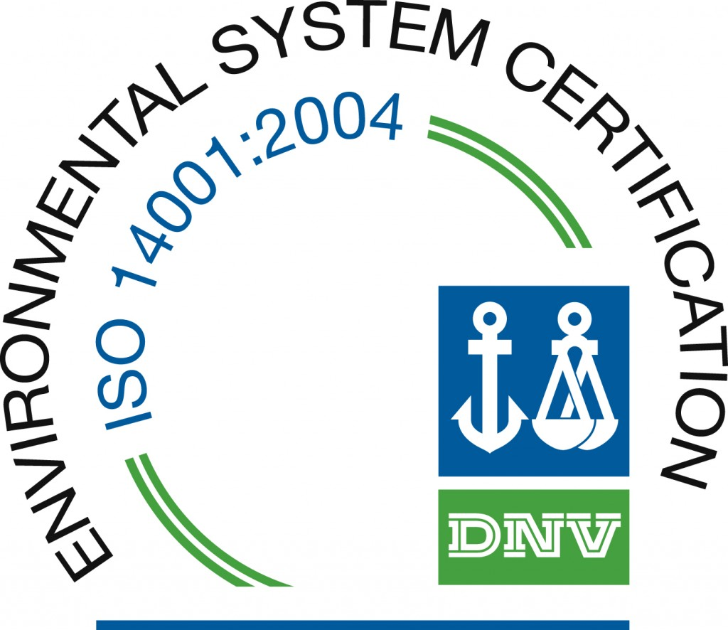 ECOFLO becomes ISO Certified! ISO 14001:2004.2014 Emblem